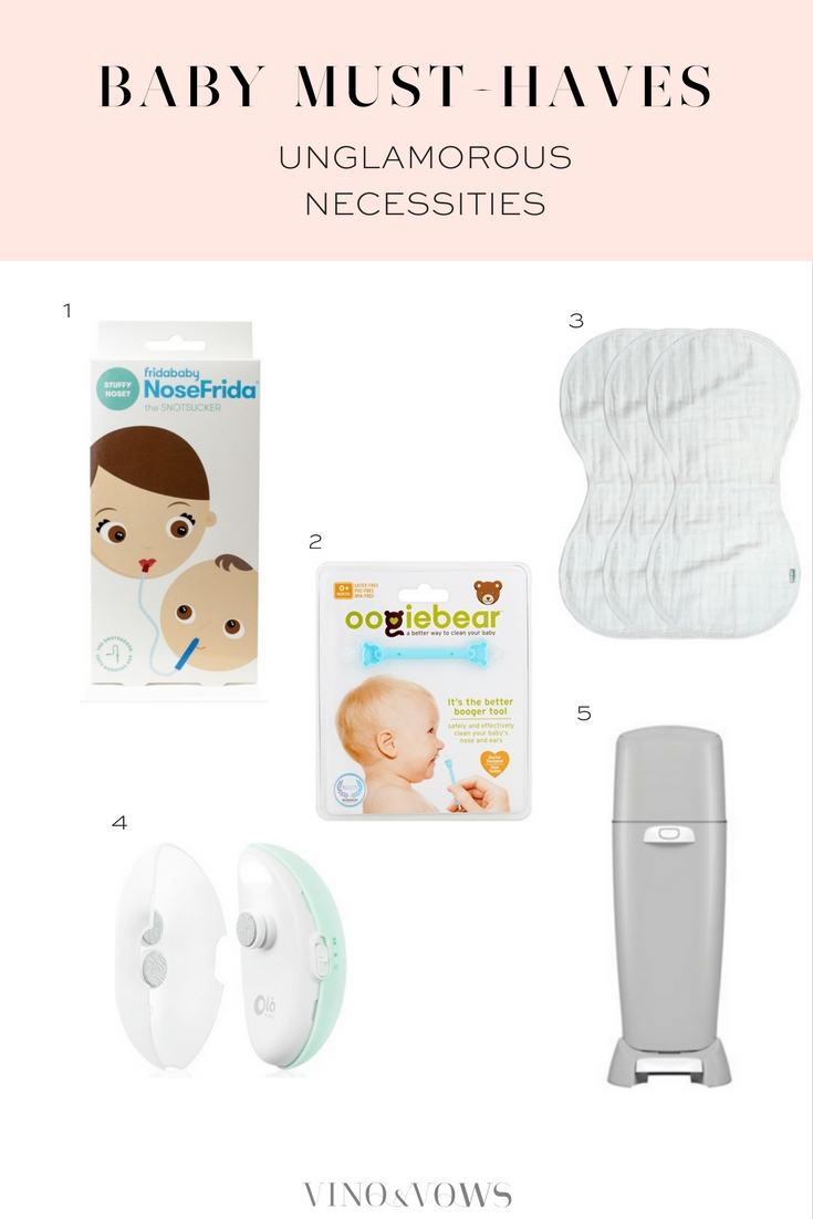 Baby Must-Haves | Vino & Vows